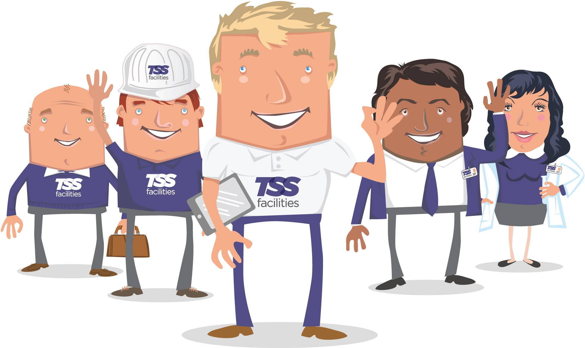 TSS Facilities Friendly Staff