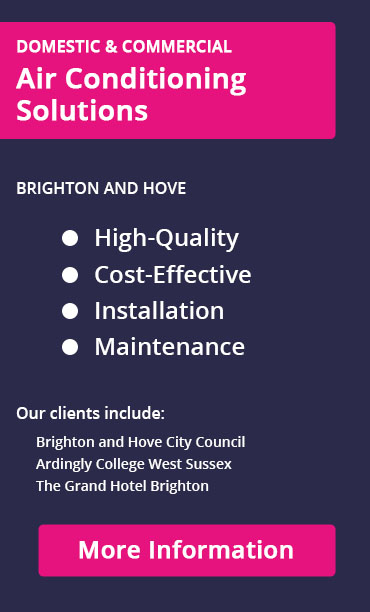 Air conditioning clients in Brighton and Hove