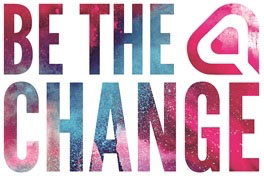Community Support at TSS Facilities - Be The Change logo