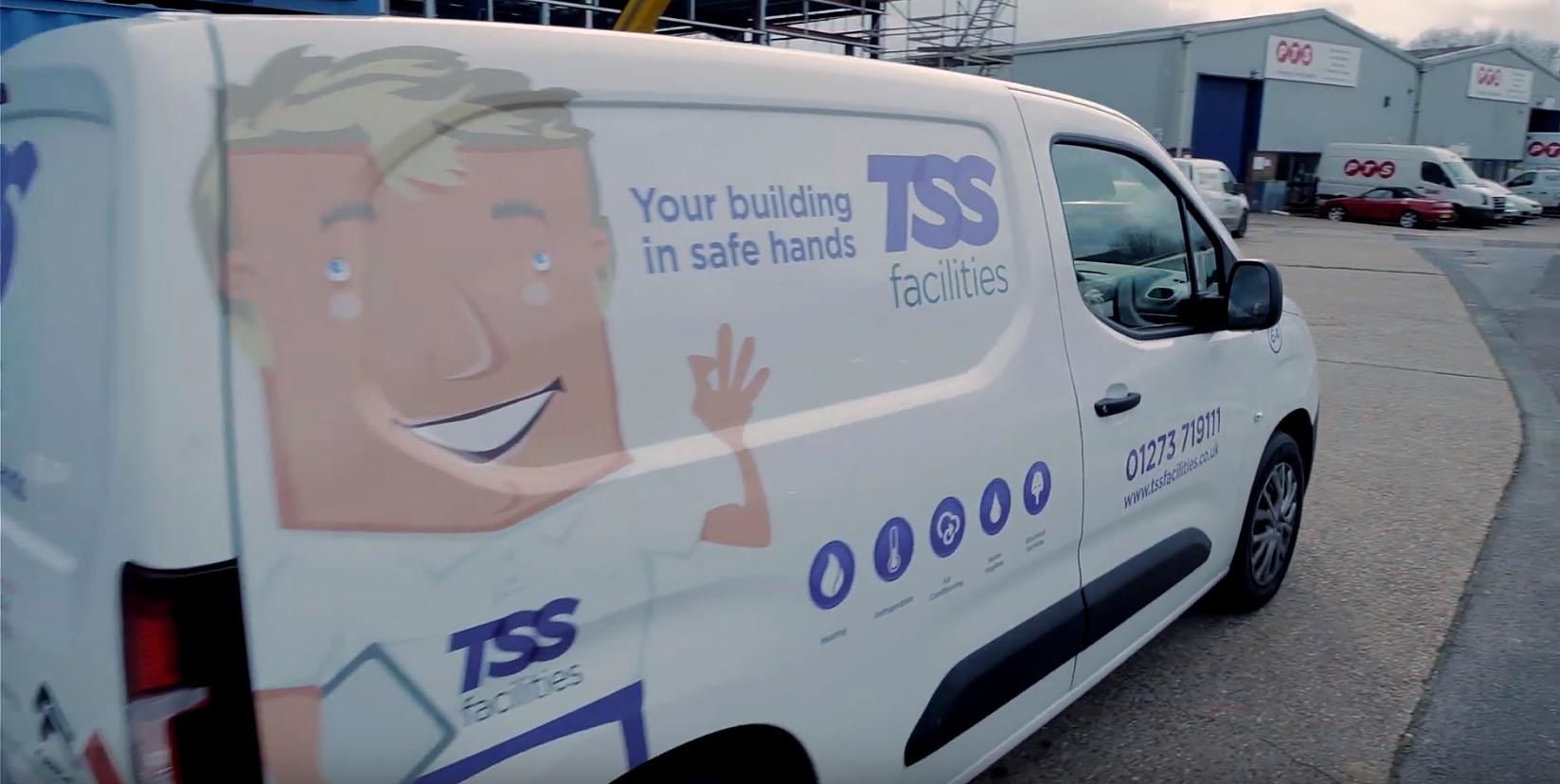 TSS Facilties Van