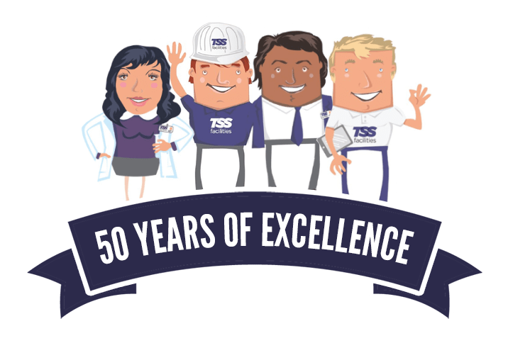 50 Years of Excellence at TSS Facilities
