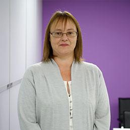 TSS Facilities Staff Elaine Bushby