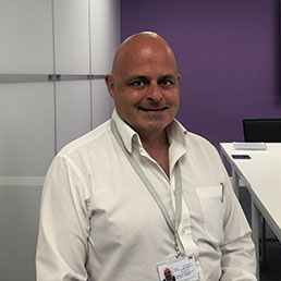 TSS Facilities Staff Julian Brunnock